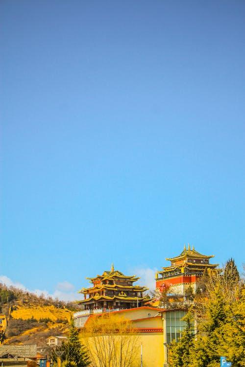 Kostnadsfri bild av Kina, rensa blå himmel, tibetan