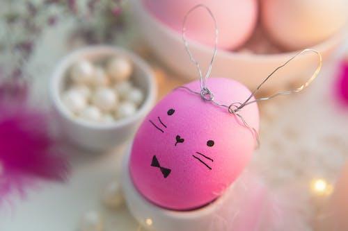 Pink Easter Bunny Egg