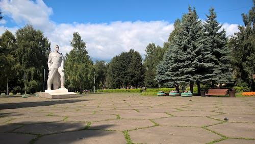 Free stock photo of monument, parc, statue, trees