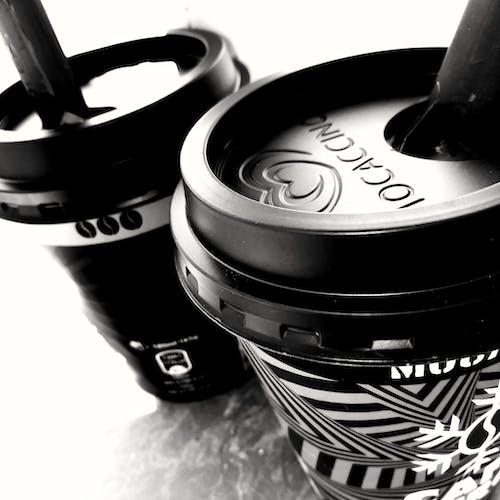 Fotobanka sbezplatnými fotkami na tému čierny abiely, detailný záber, káva, monochromatický