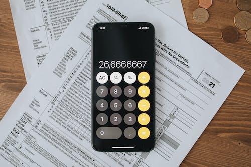 คลังภาพถ่ายฟรี ของ การคืนภาษี, การบัญชี, การเก็บภาษี