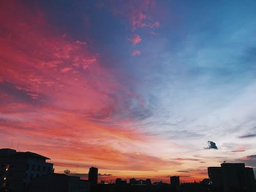 Δωρεάν στοκ φωτογραφιών με #sky #candysky #sunset #nature #bangkok # thailand