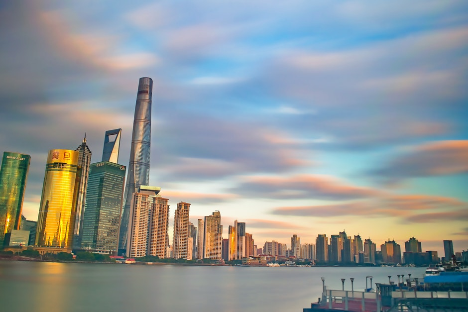 Highrise Buildings Near Body of Water