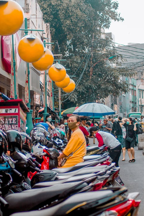 Free stock photo of asian, market, people