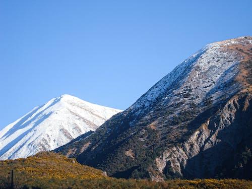 Free stock photo of snow, snow background, snow capped mountain