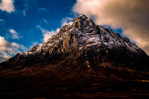 Landscape Photography of Mountain during Daylight