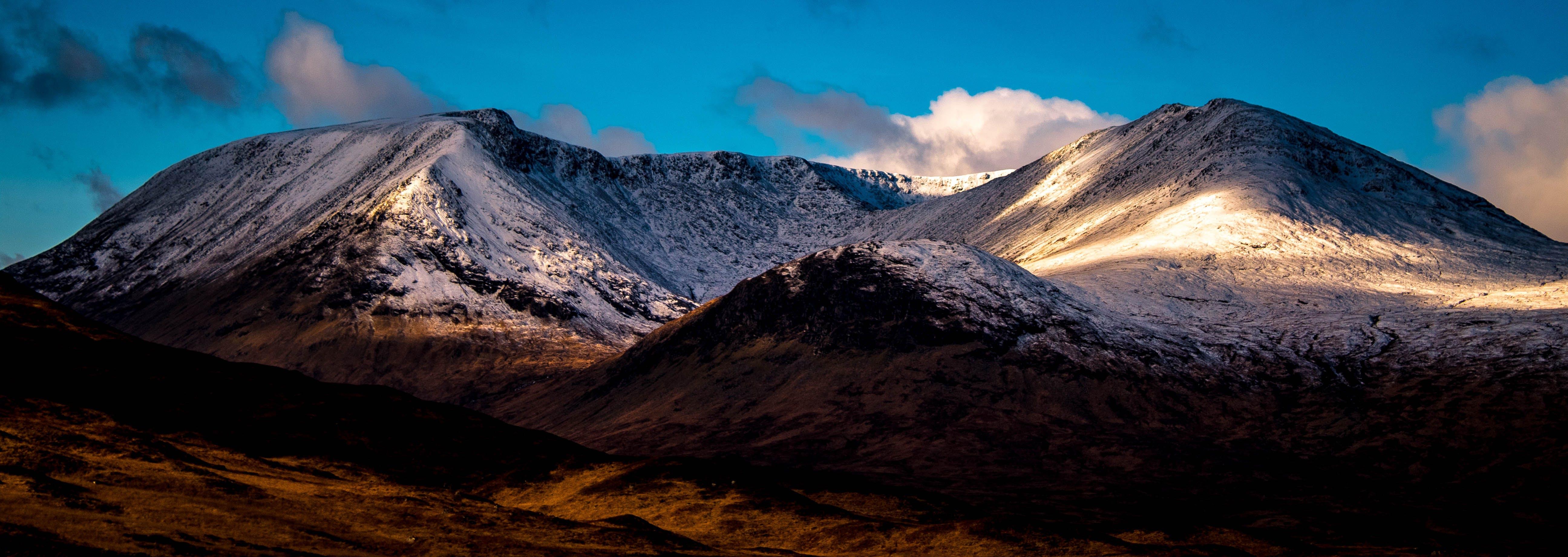 Free stock photo of snow, landscape, mountain, outside