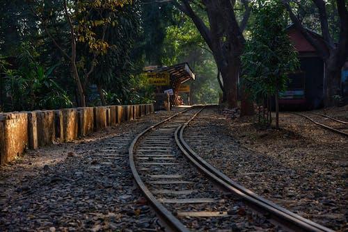 Railroad in Rural Area