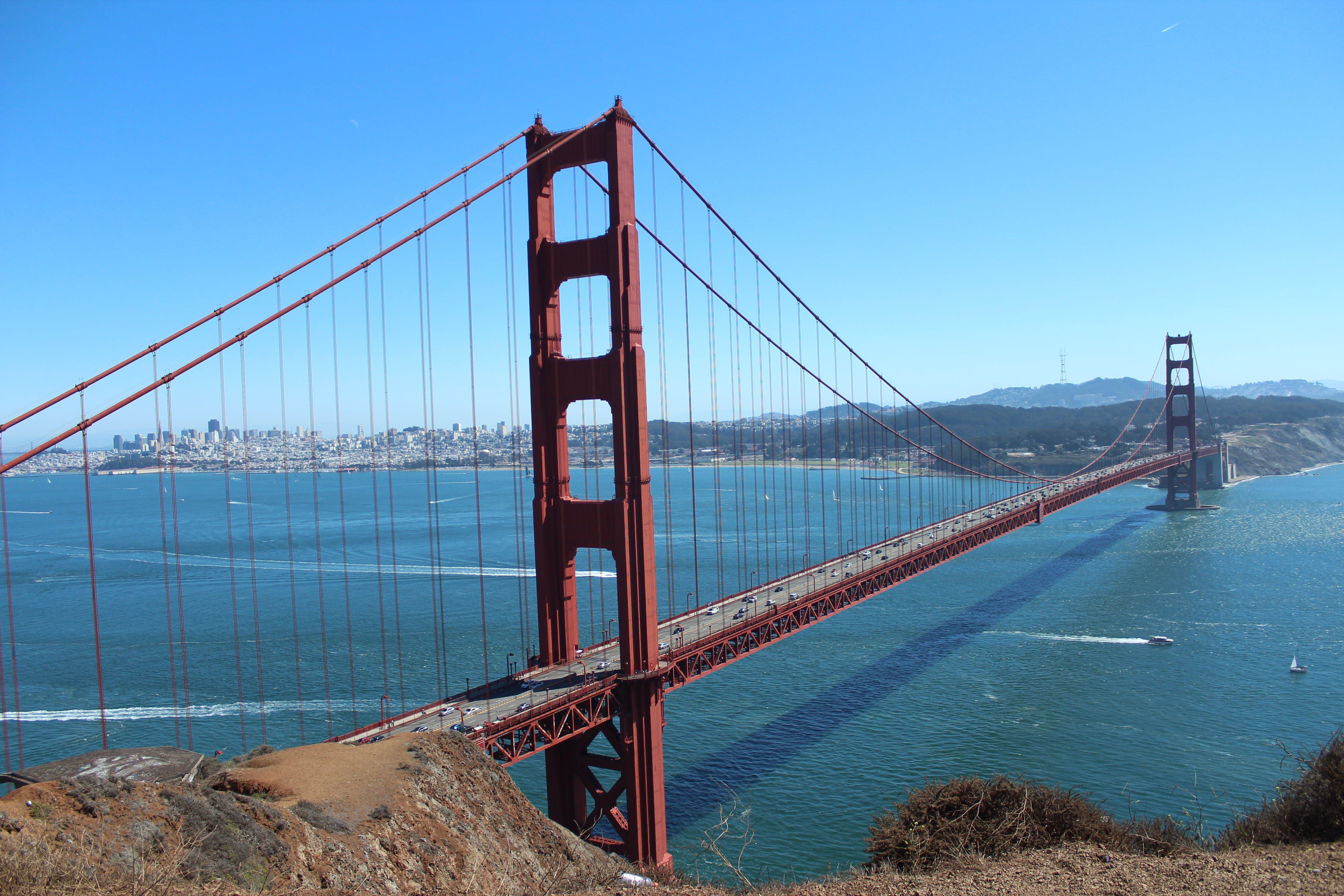 Kostenloses Stock Foto zu brücke, golden gate bridge, ozean, san francisco