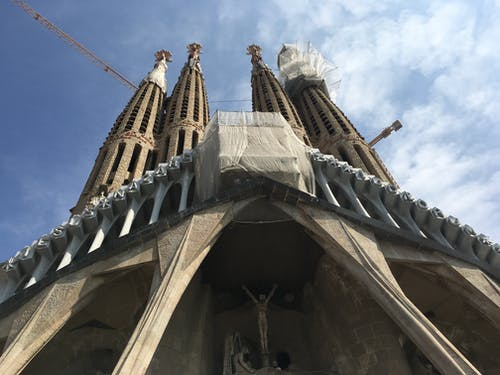 Kostenloses Stock Foto zu barcelona, familia sagrada, monument