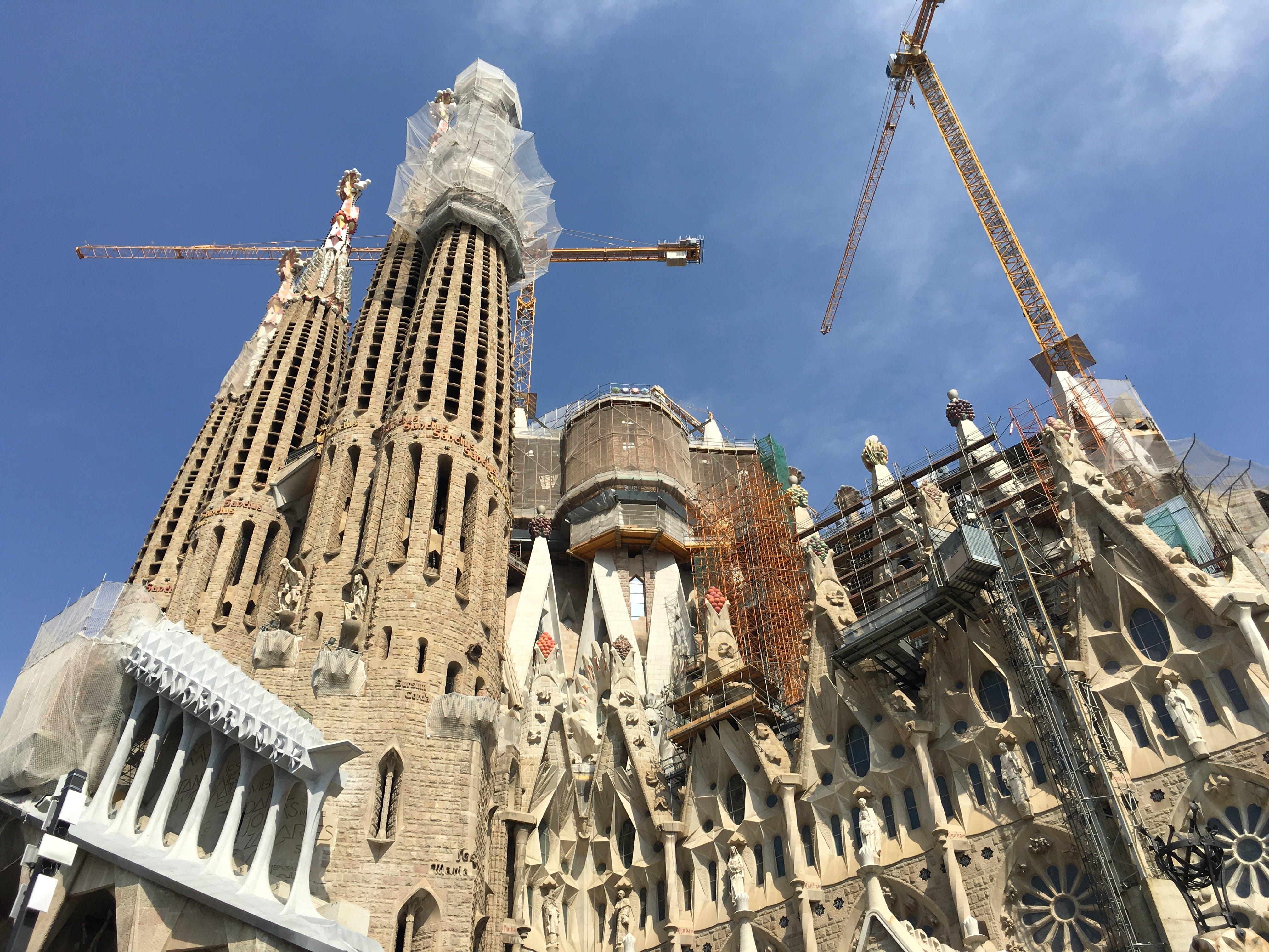 Kostenloses Stock Foto zu barcelona, familia sagrada, monument, spanien