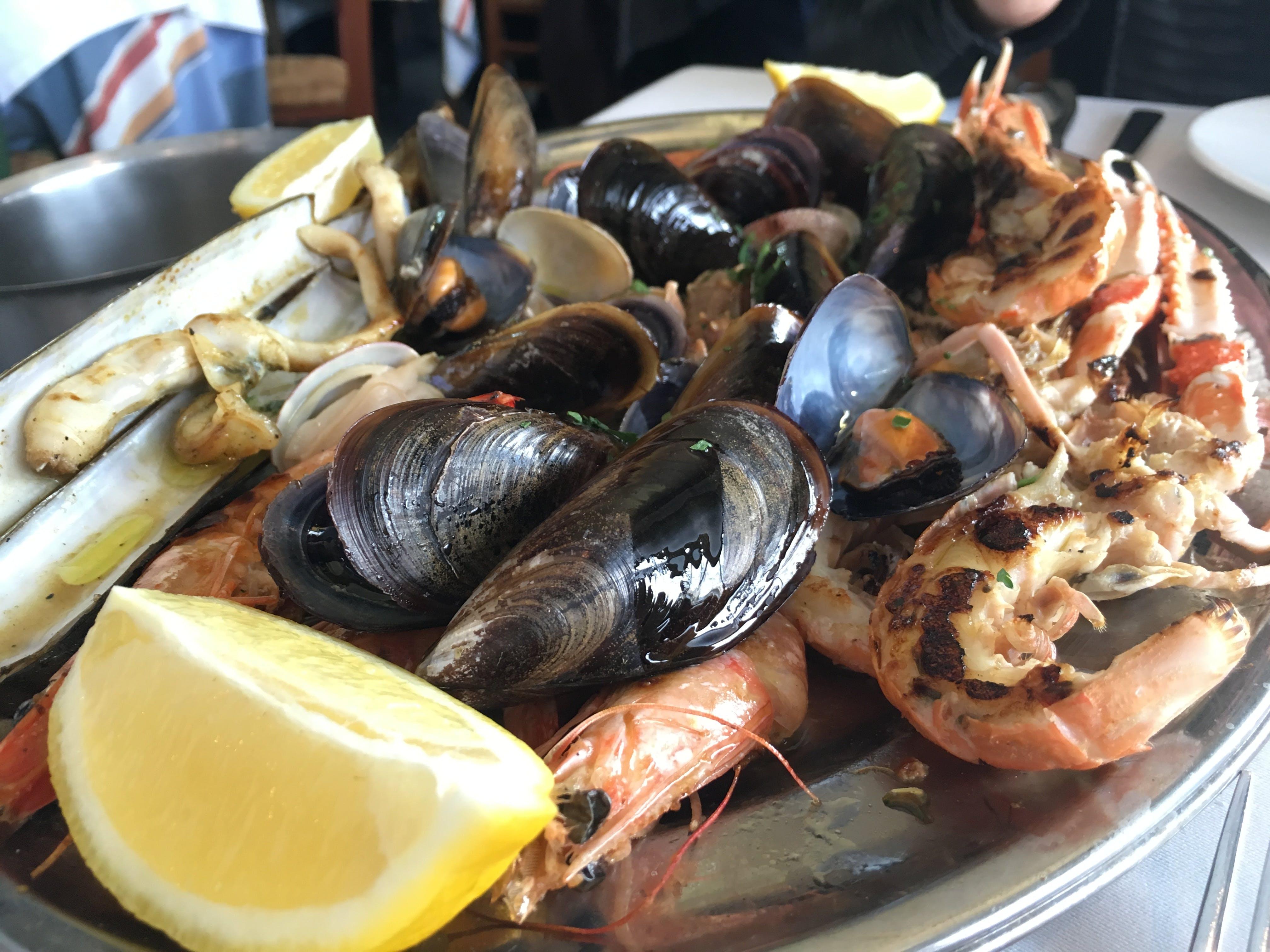 Kostenloses Stock Foto zu essen, krabbe, meeresfrüchte, restaurant