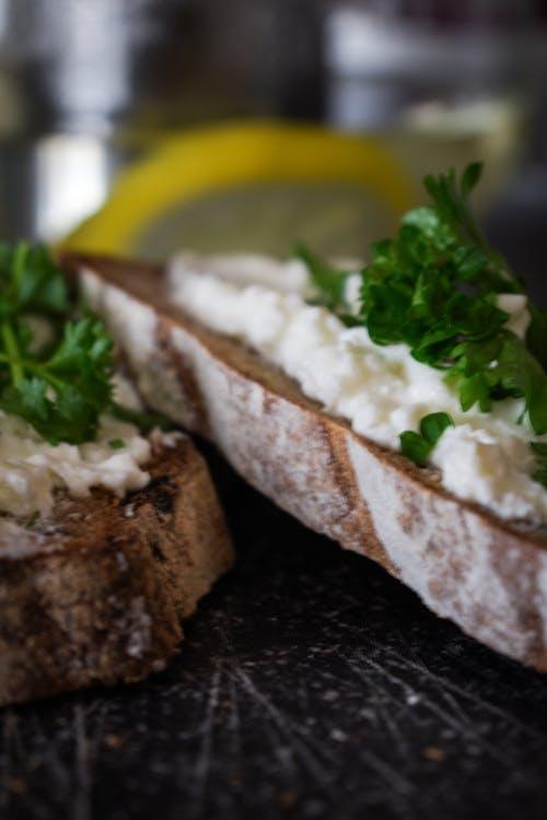 Free stock photo of parsley, sandwiches, tea