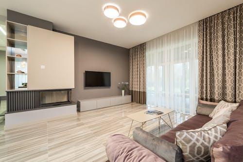 Foto stok gratis akomodasi, Apartemen, bagian dalam