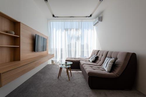Foto profissional grátis de aconchego, almofada, apartamento