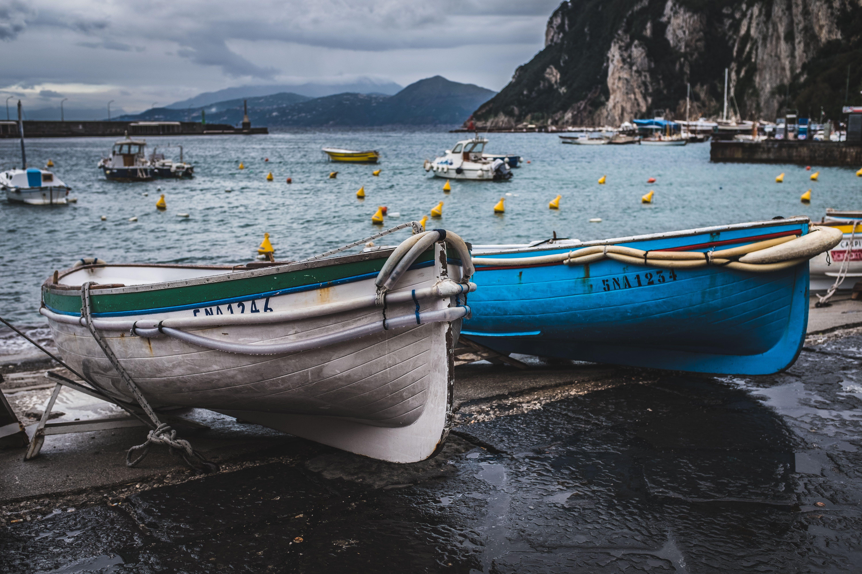 Gratis lagerfoto af båd, hav