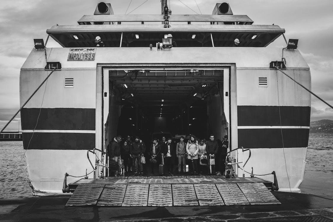 loď, more, oceán