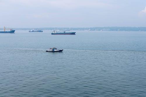 Základová fotografie zdarma na téma člun, loď, moře, nákladní loď