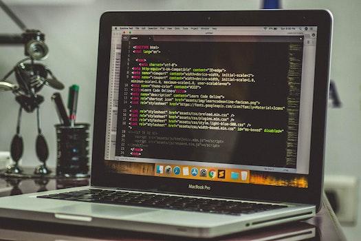 Free stock photo of laptop, macbook pro, macbook air, coding