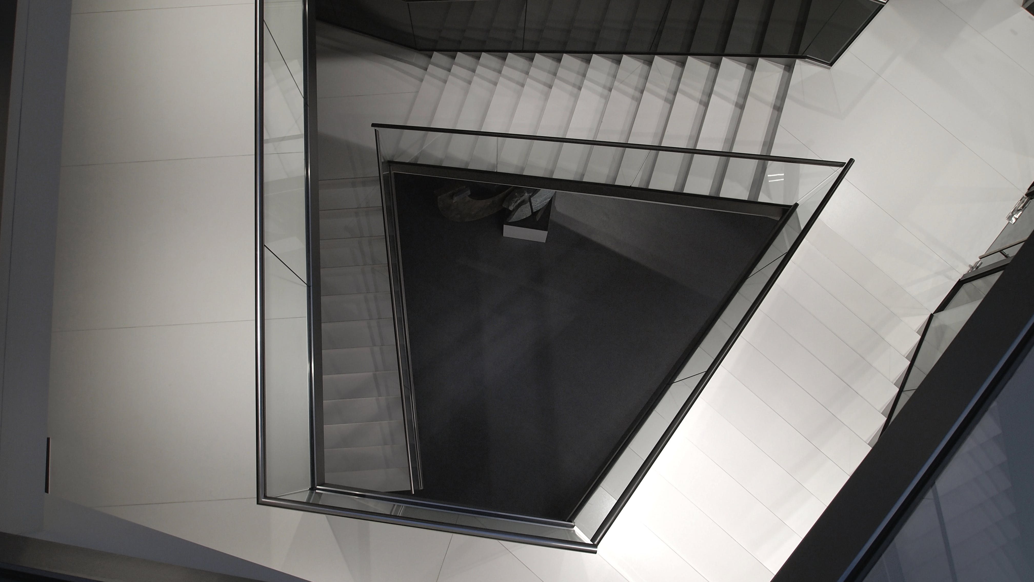 Free stock photo of stairs, light, glass, architecture
