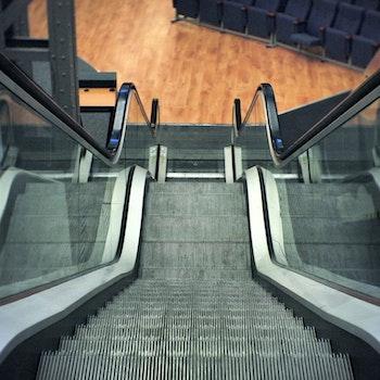 Free stock photo of stairs, escalators, escalator, down