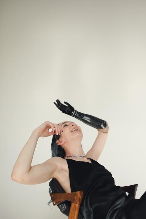 Ingyenes stockfotó arckifejezés, bionikus, boldog témában