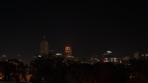 Darmowe zdjęcie z galerii z atlanta, noc, panorama