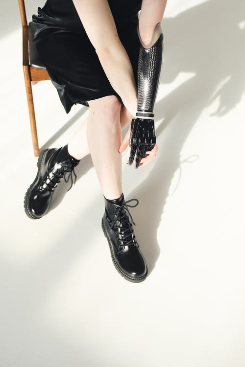 Photo Of Person Wearing Leather Shoes