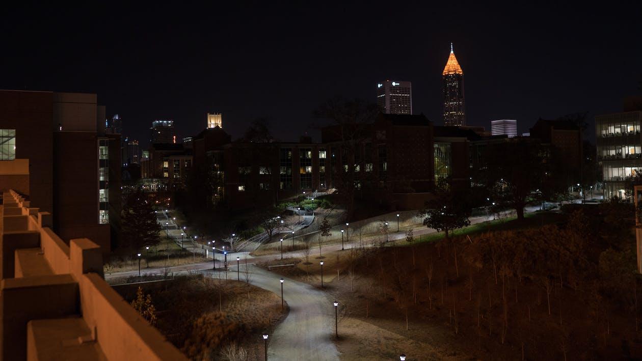 Free stock photo of atlanta, night
