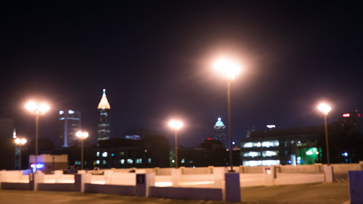 Free stock photo of atlanta, night
