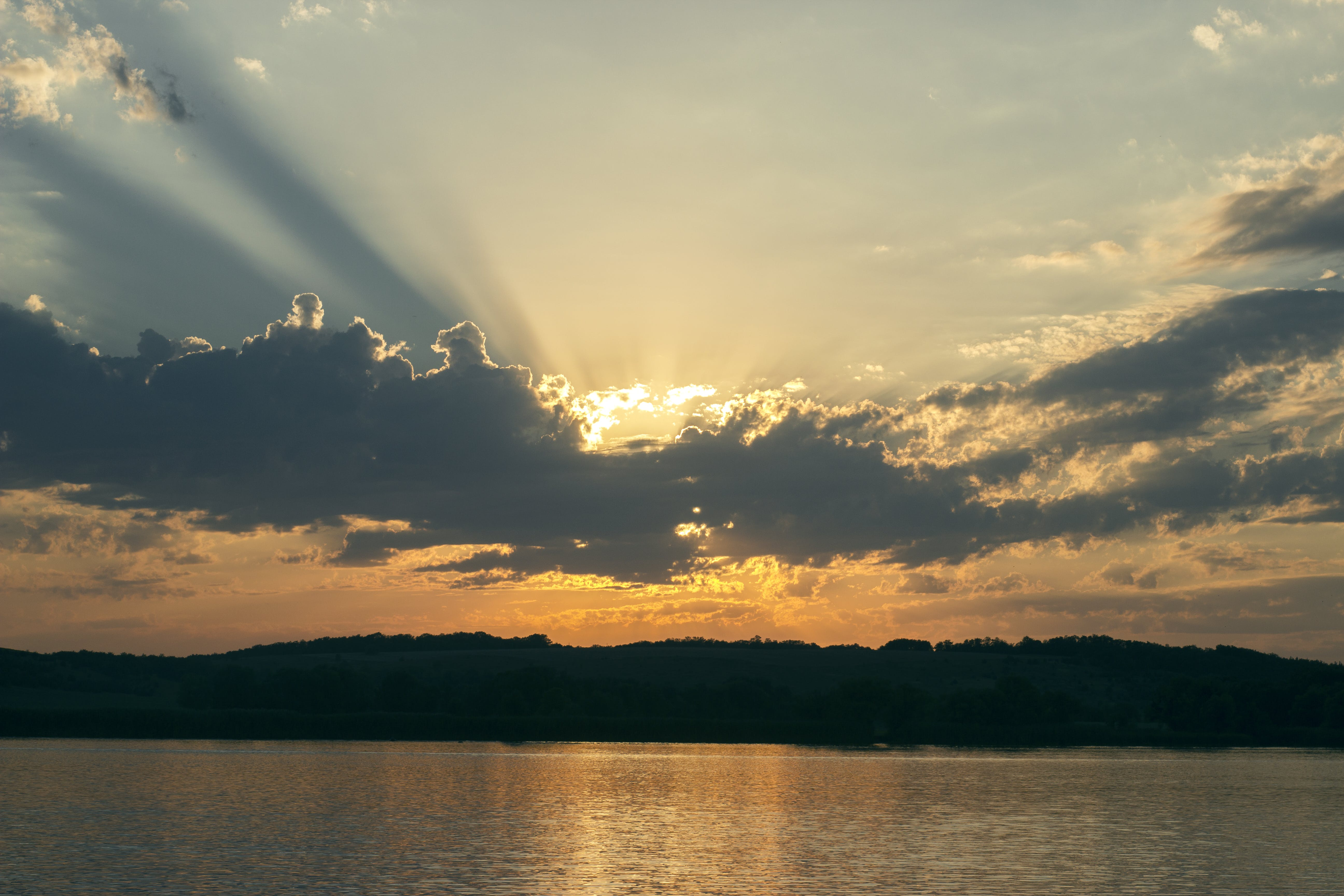 Free stock photo of cloud, evening, nignt, rays