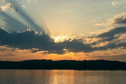 Free stock photo of cloud, evening, nignt