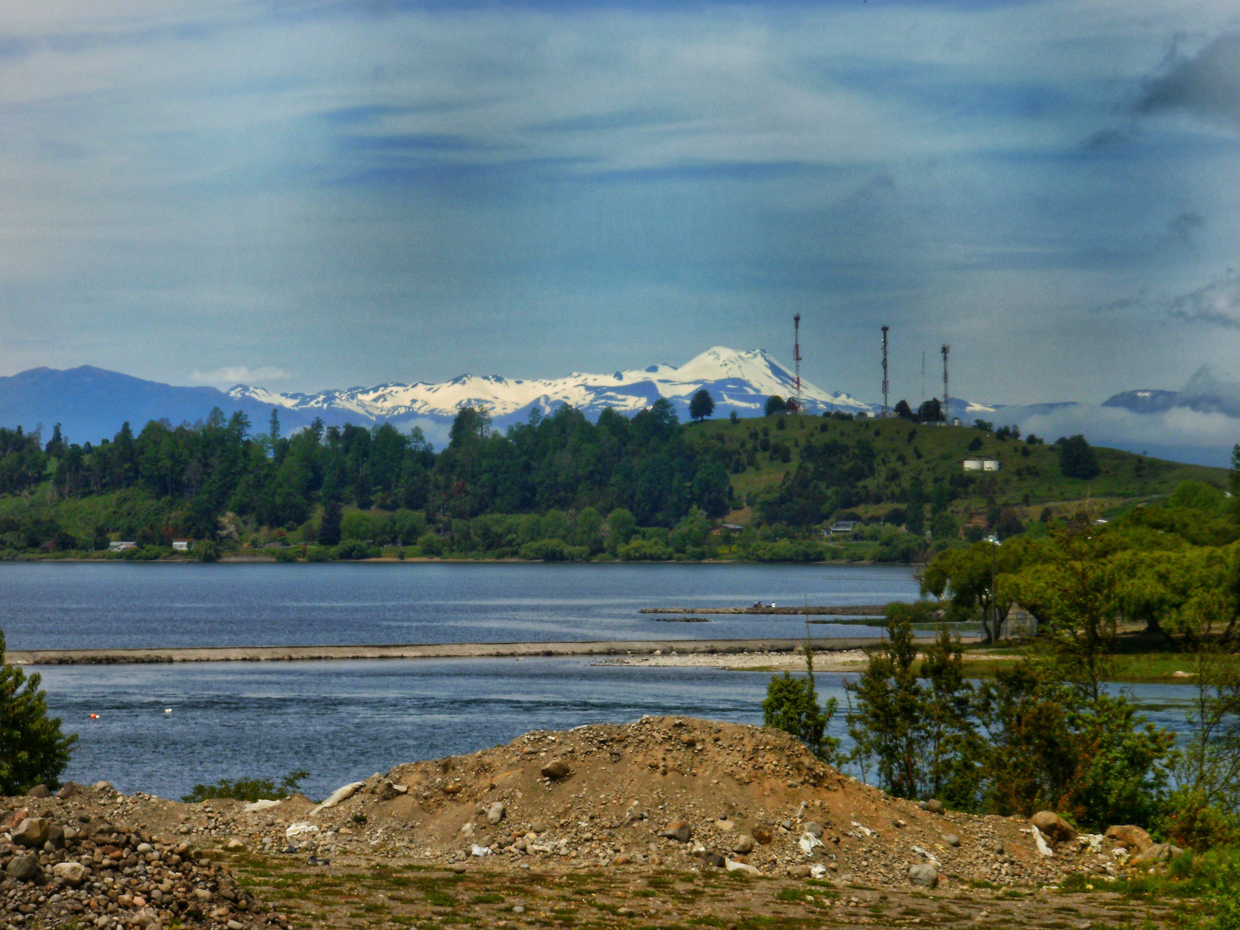 Free stock photo of forest, HD wallpaper, lake, mountain range