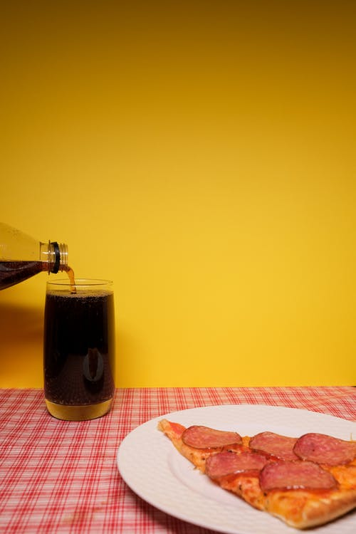 คลังภาพถ่ายฟรี ของ peperoni, กระจก, กินได้
