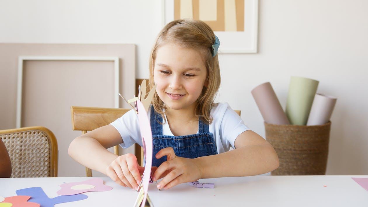 Girl Doing Some Artwork