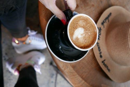 カプチーノ, コーヒー, コーヒーショップ, スタイルの無料の写真素材