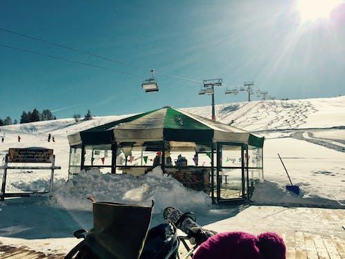 Darmowe zdjęcie z galerii z jeździć na nartach, słońce, wakacje, włochy