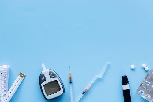 Gratis arkivbilde med blå, blodsukkermåler, diabetes