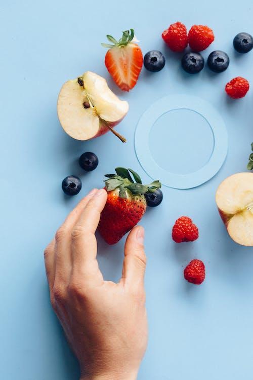 Gratis arkivbilde med apple, bær, blå