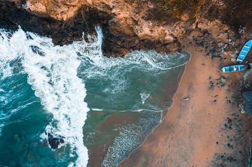 Ilmainen kuvapankkikuva tunnisteilla hiekka, ilmakuva, jyrkänne