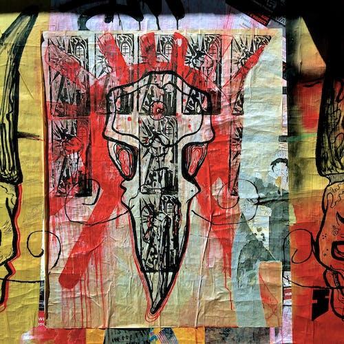 塗鴉, 海報, 牆藝術 的 免費圖庫相片
