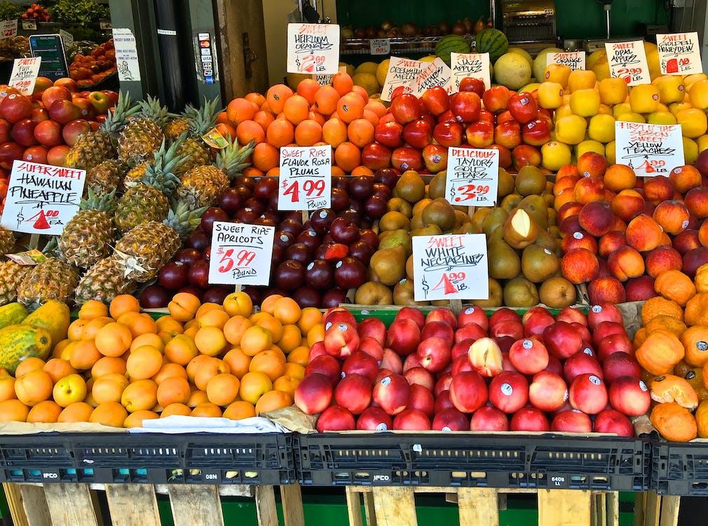 市場, 新鮮水果, 柑橘類水果 的 免費圖庫相片