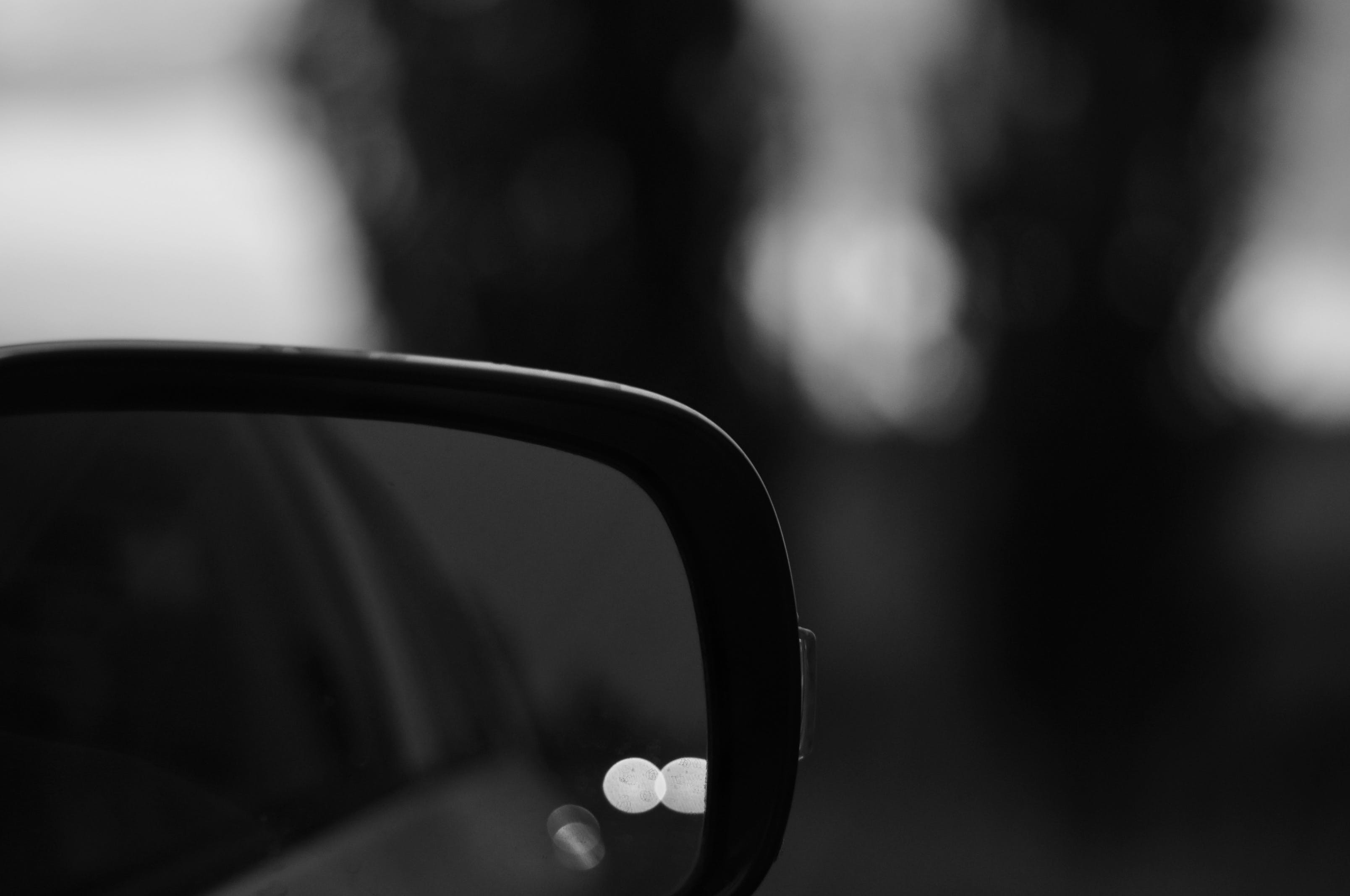 Free stock photo of abstract photo, black and white, black and-white, black mirror