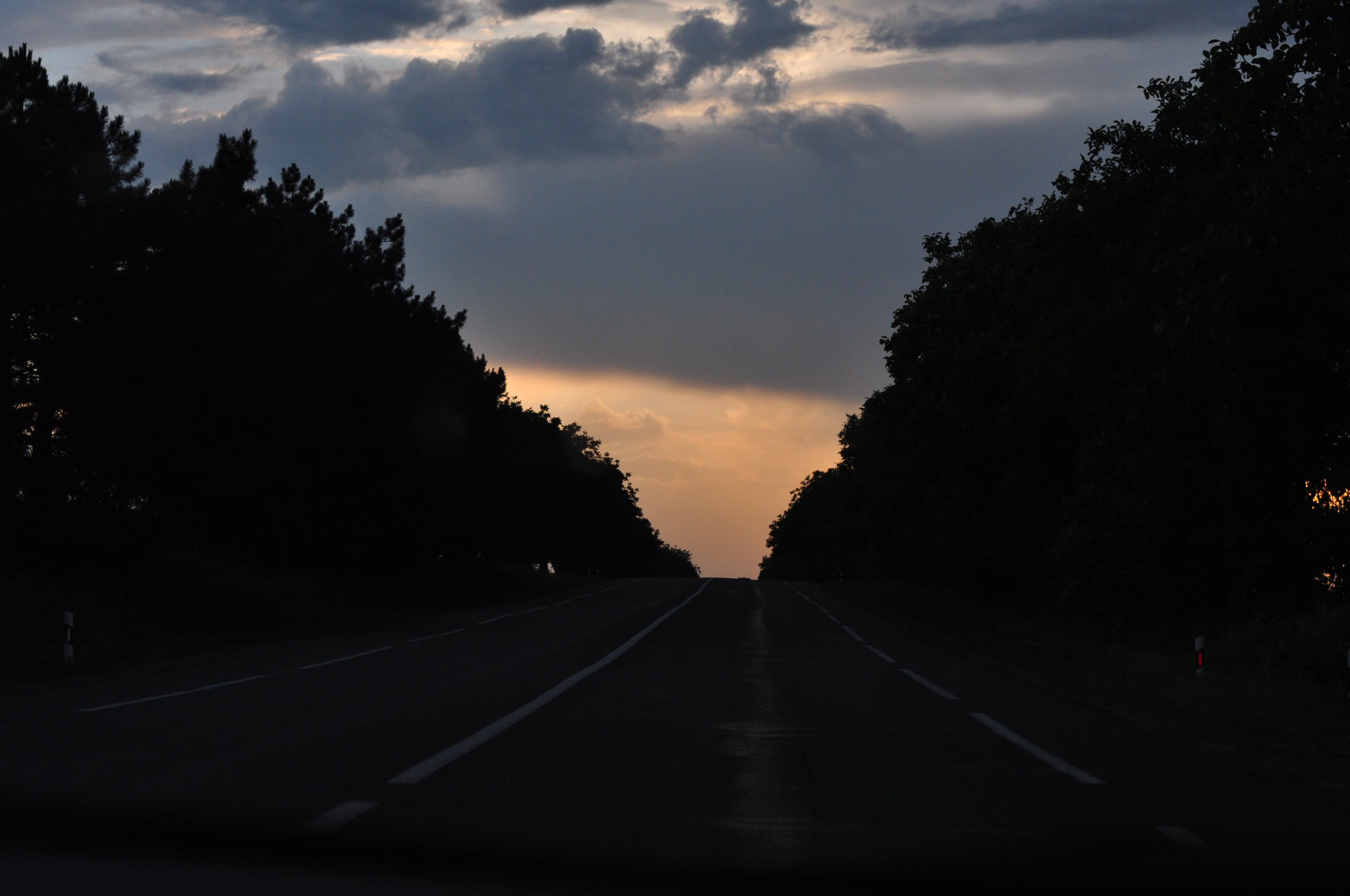 Free stock photo of empty road, evening, evening sky, off-road