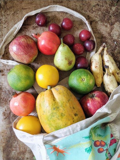 Flatlay Photo of Fruits