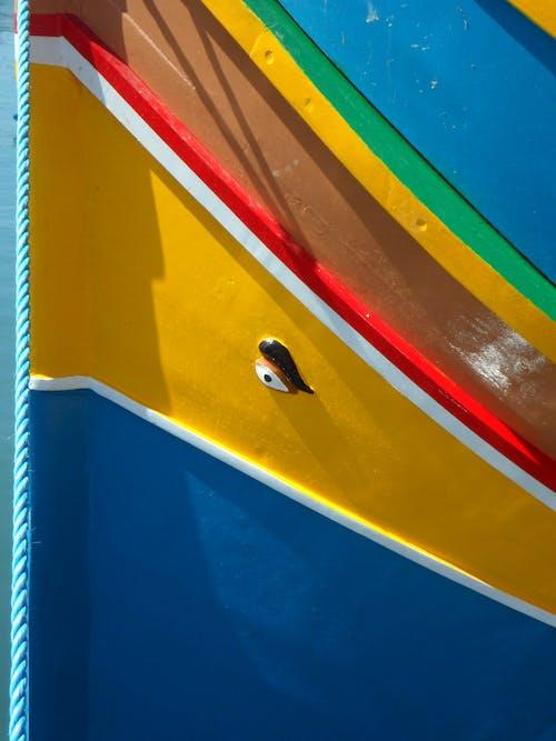 Foto d'estoc gratuïta de barca de pesca, barques, colorit, embarcació d'aigua
