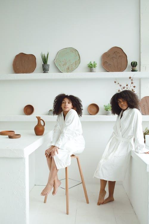 Ilmainen kuvapankkikuva tunnisteilla afro hiukset, Ihonhoito, kasvohoito