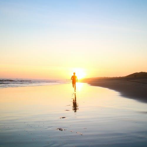 Безкоштовне стокове фото на тему «берег моря, бігти, біжить, благополуччя»