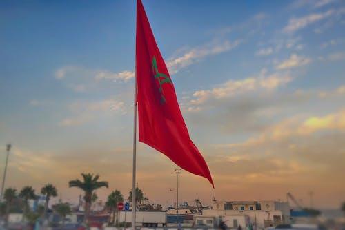 Foto profissional grátis de acenando, África, bandeira