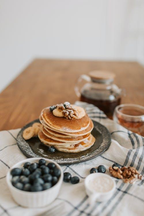 Free stock photo of baking, blueberries, breakfast